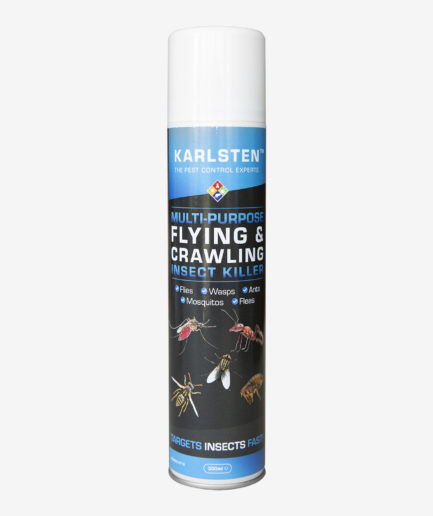 Karlsten Multi Insect Killer 300 ml Kills All Insects including Spiders Moths, Fleas ,Ants
